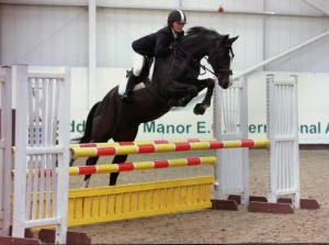 Cass, first time at Addington, Nov 11.       Photo Equine Life 