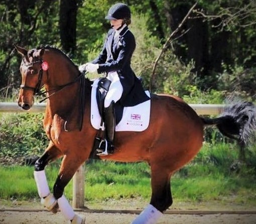 Joanna and Apollo who are off to The Europeans this month.