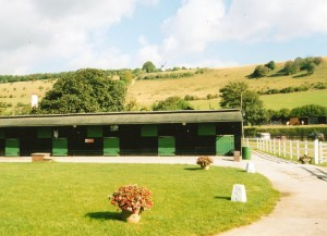 Turville Valley Stud: the yard